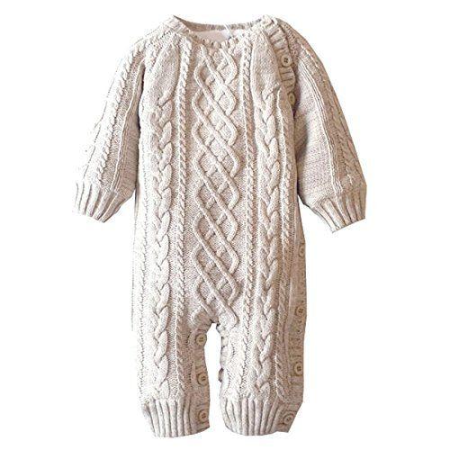 ef895b5cd ZOEREA Infant Newborn Baby Romper Christmas Sweaters Velvet Knitted ...