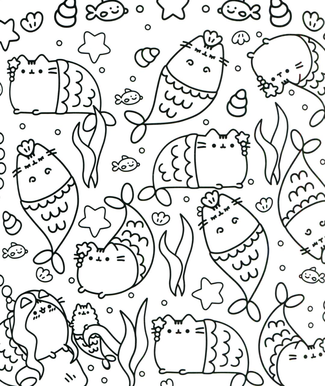 Coloring Rocks Pusheen Coloring Pages Mermaid Coloring Pages Unicorn Coloring Pages