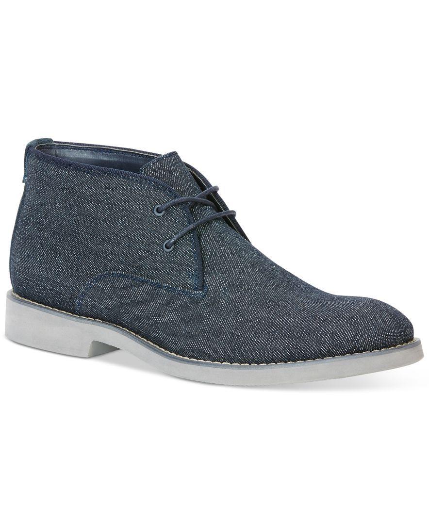 Calvin Klein Jeans Chester Denim Chukka Boots - All Men's Shoes - Men -  Macy's