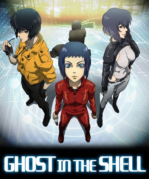 Ghost In The Shell Motoko Kusanagi Nicknamed The Major Is The Commanding Field Officer Of Section 9 She Is A Full Bod Ghost In The Shell Anime Ghost Ghost