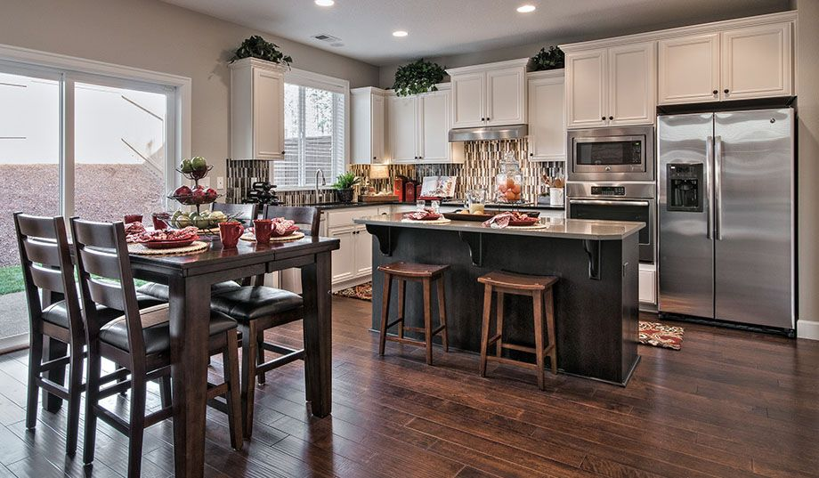 Love This Kitchen! Especially The Back Splash. #DRHorton #Homes