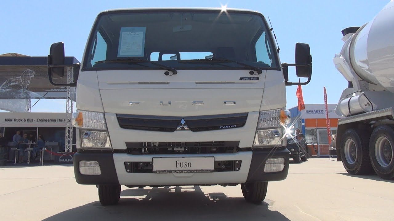 Fuso Canter 3c15 4x2 3400 Chassis Truck 2019 Exterior And Interior Trucks Digital Dashboard Canter