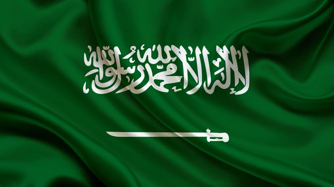 The Flag Of Saudi Arabia Is Used By The Government Of Saudi Arabia Since March 15 1973 The Arabic Inscription On Saudi Arabia Flag Saudi Flag Saudi Arabia