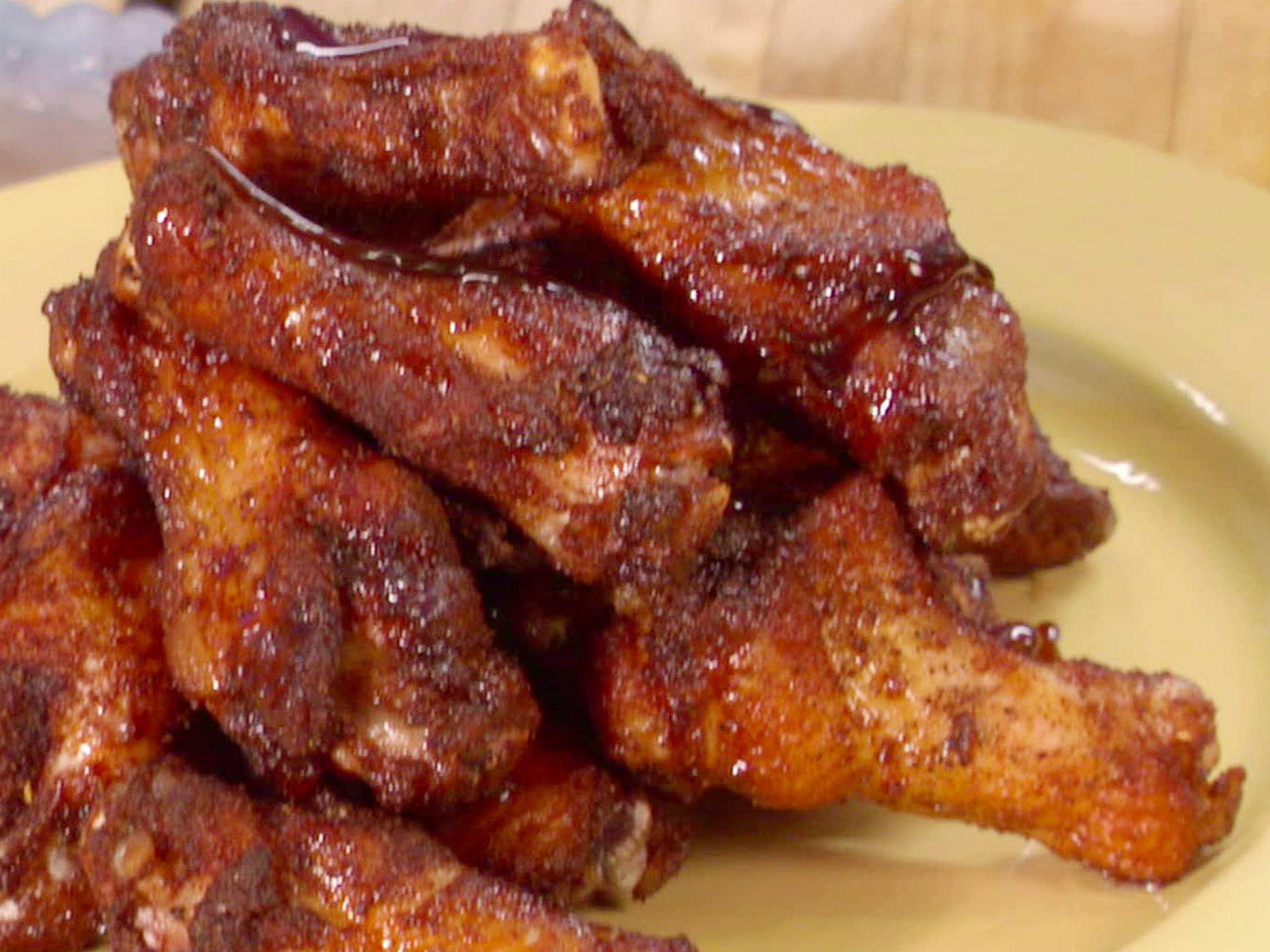 Jerk wings with rum brown sugar glaze recipe brown sugar glaze food forumfinder Image collections