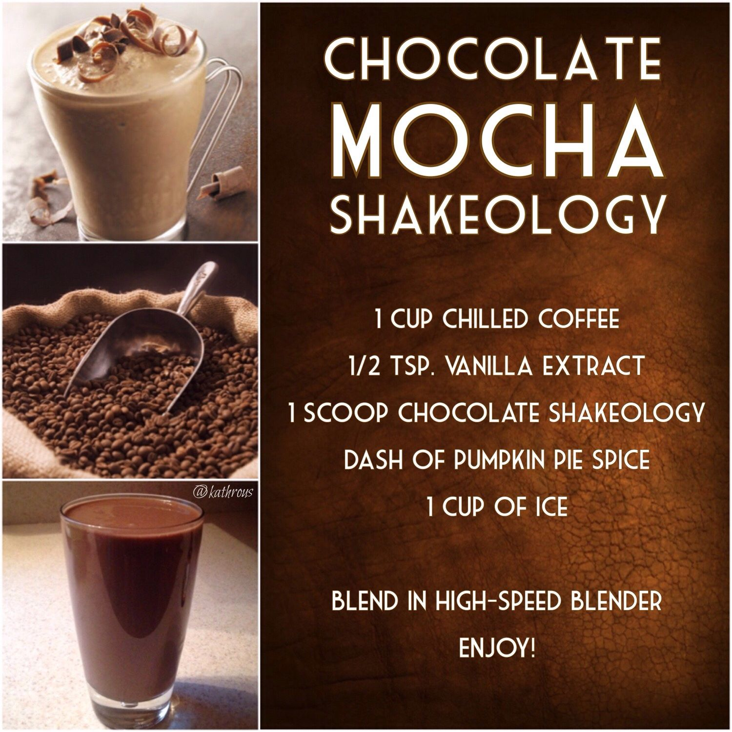 Chocolate Mocha Shakeology | Shakeology, Shakeology flavors and ...