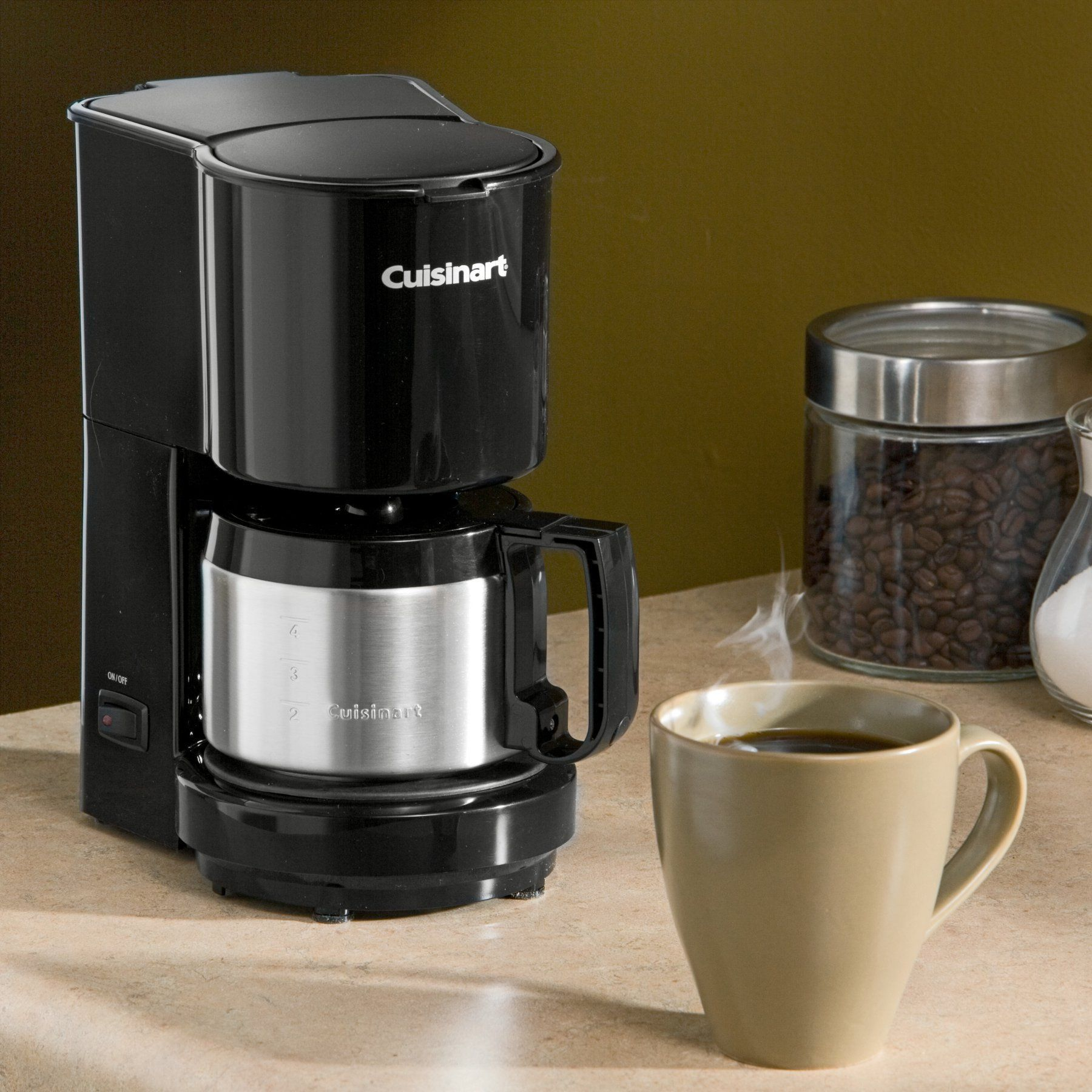 Cuisinart Dcc 450 4 Cup Coffee Maker With Stainless Steel Carafe Black Coffee Maker 4 Cup Coffee Maker Melitta Coffee Maker