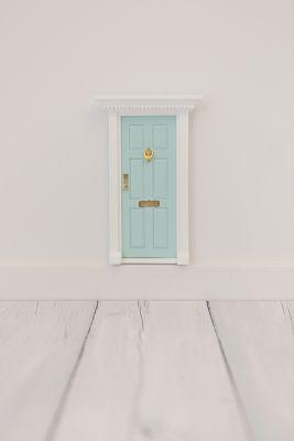 Aqua Fairy Door