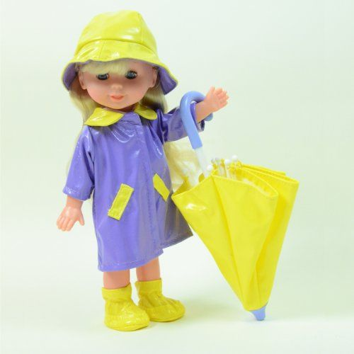 "Rainy Day Doll with Umbrella 10"" Doll - Colors May Vary b... https://www.amazon.com/dp/B00GOCQ7VO/ref=cm_sw_r_pi_dp_x_8hpNyb33GGY8C"