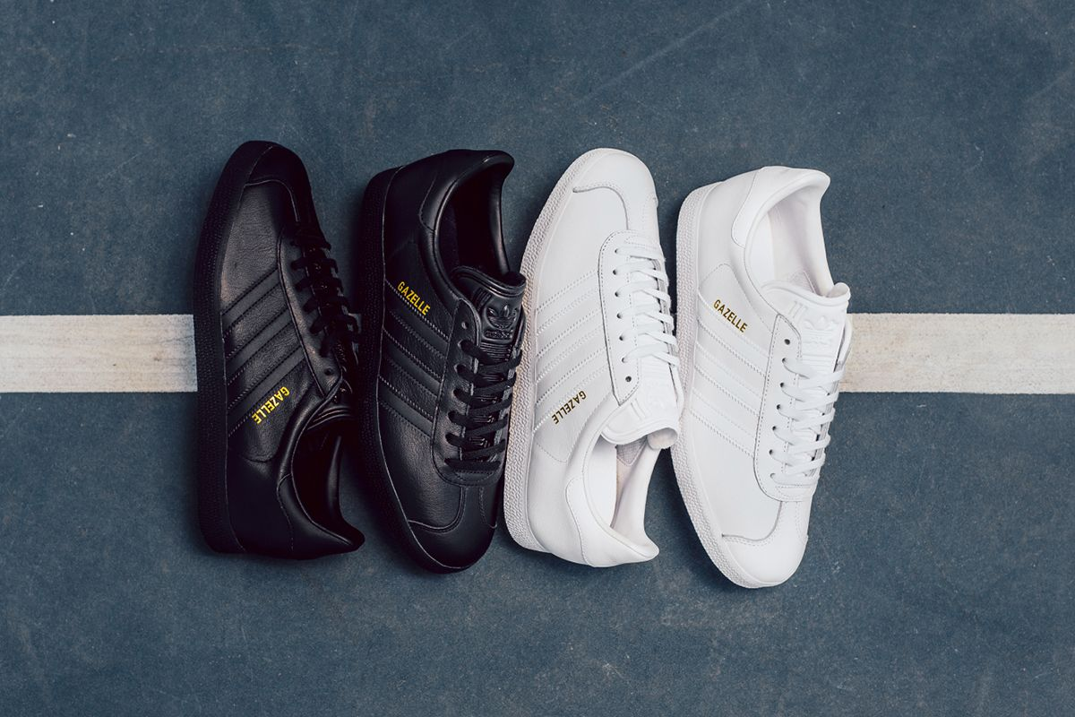 adidas Originals Reveals Its Monochromatic Leather Gazelle Collection