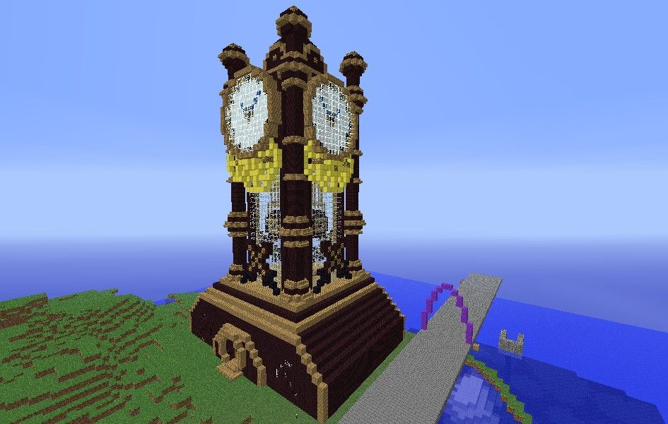 how to make a minecraft steampunk island