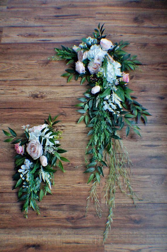 Wedding Arch Swag, Wedding Backdrop, Wedding Arch Flowers