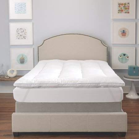 "Queen Size 3/"" Inch Deluxe Memory Foam Mattress Protector Bedding Pad Topper"