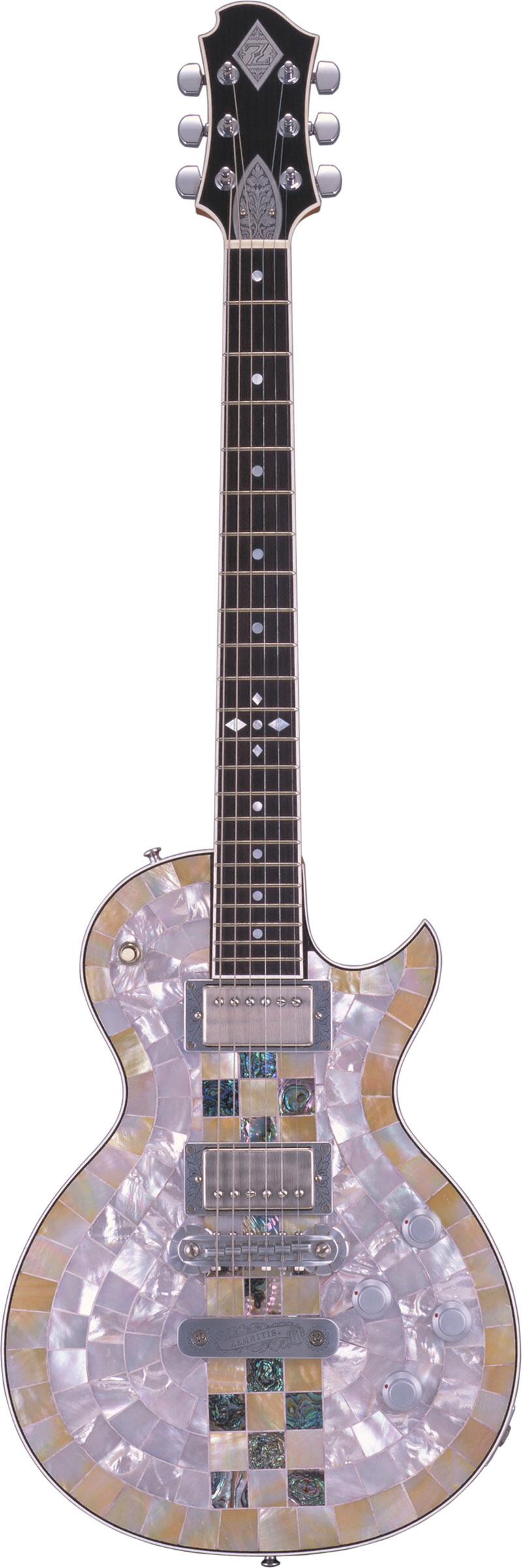 ZEMAITIS PF500-CHECKER Pearl Front™ Guitar