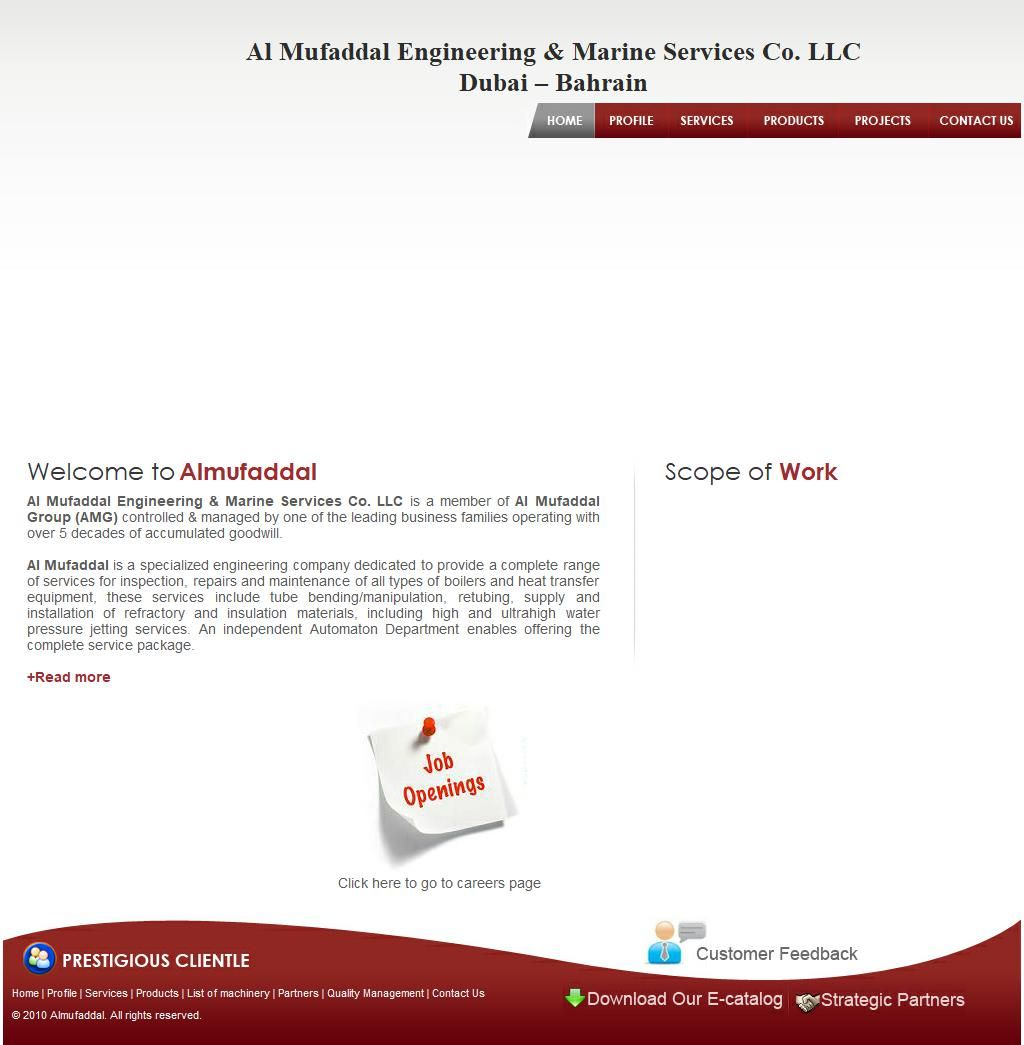 Al Mufaddal Engineering Marine Services Company, Llc 4, 23a