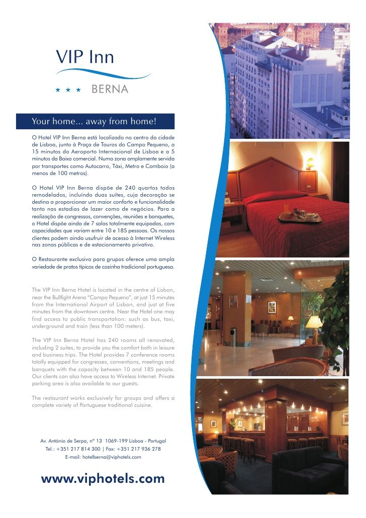 Hotel Fact Sheet Format Vip Berna Hotel Fact Sheet  Graphic
