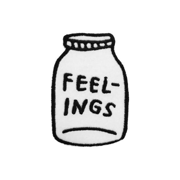 Is this positive? Is it negative? This jar of feelings might be the dark stuff you're holding inside forever, or it could be a secret stash of optimism you're s