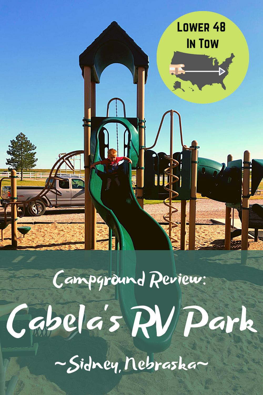 Campground Review Cabela S Rv Park Rv Parks Rv Parks And Campgrounds Campground Reviews