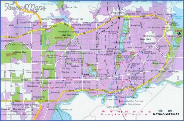 Awesome shenzhen street map tours maps pinterest shenzhen awesome shenzhen street map gumiabroncs Images