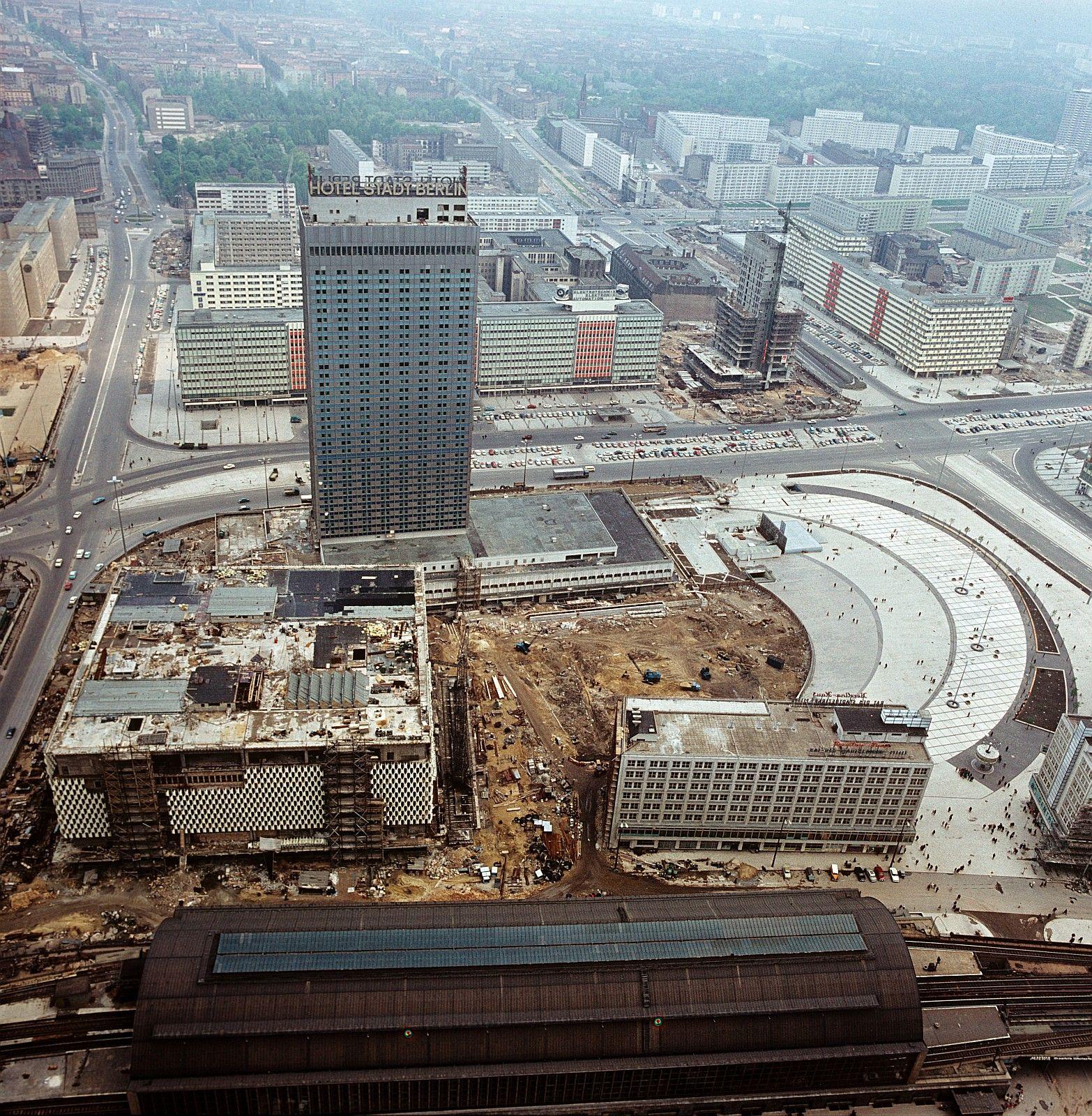 Alexanderplatz Berlin Hauptstadt Berlin Stadt Berlin Alexanderplatz