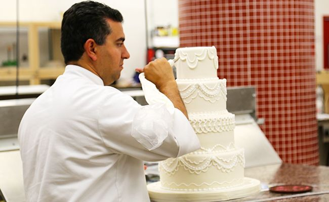 TLC's Cake Boss star Buddy Valastro has been making creative wedding cakes in New Jersey for almost 20 years (Mario Lopez and Sam Champion had his ...