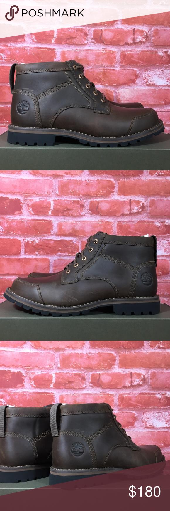 tobillo Hacia atrás temperatura  TIMBERLAND MEN'S LARCHMONT CHUKKA BOOTS DARK BROWN | Chukka boots, Timberland  mens, Boots men