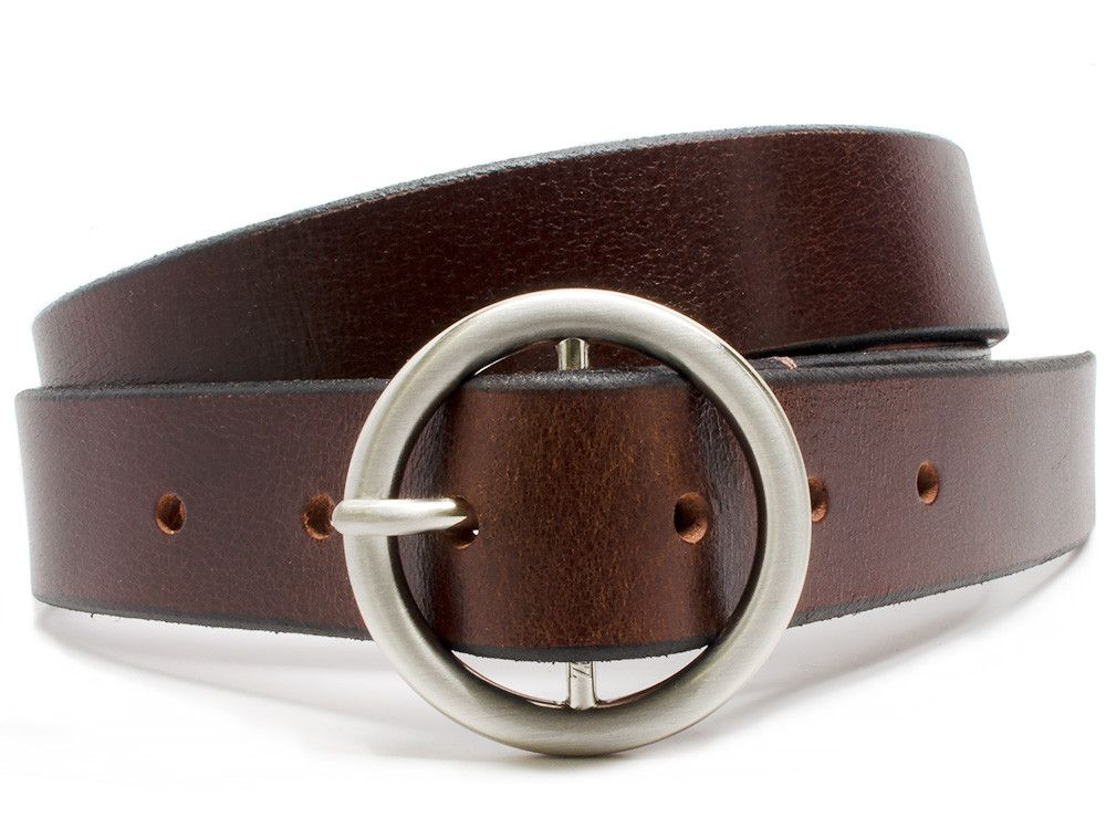 Beech Mountain Brown Leather Belt Check out the circular