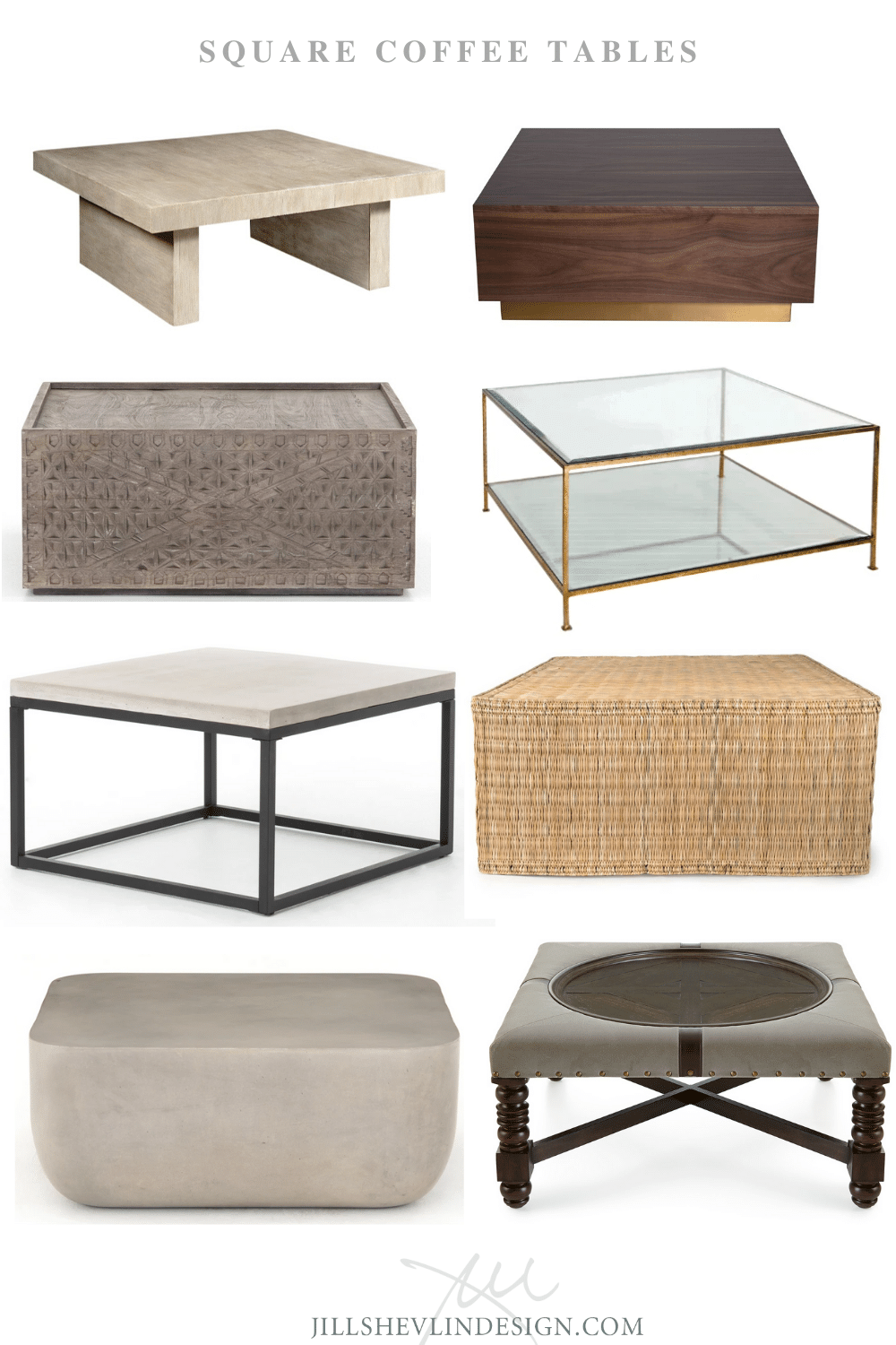Shop Coffee Cocktail Tables Coffee Table Farmhouse Modern Farmhouse Coffee Table Coffee Table Square [ 1500 x 1000 Pixel ]
