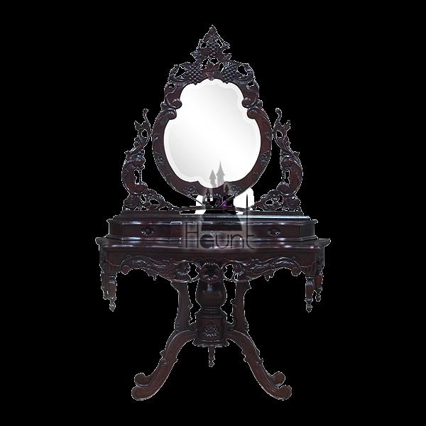 The Vampiress Vanity Goth Home Decor Vampire Decor Gothic