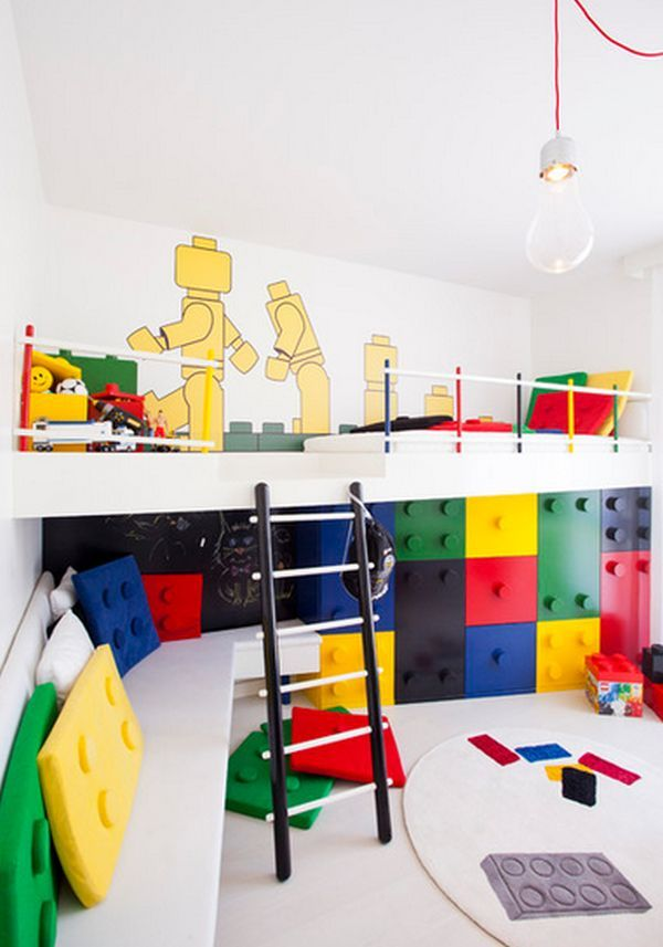 24 id es d coration de salles de jeux pour enfants home kid s room pinterest jeux enfants. Black Bedroom Furniture Sets. Home Design Ideas