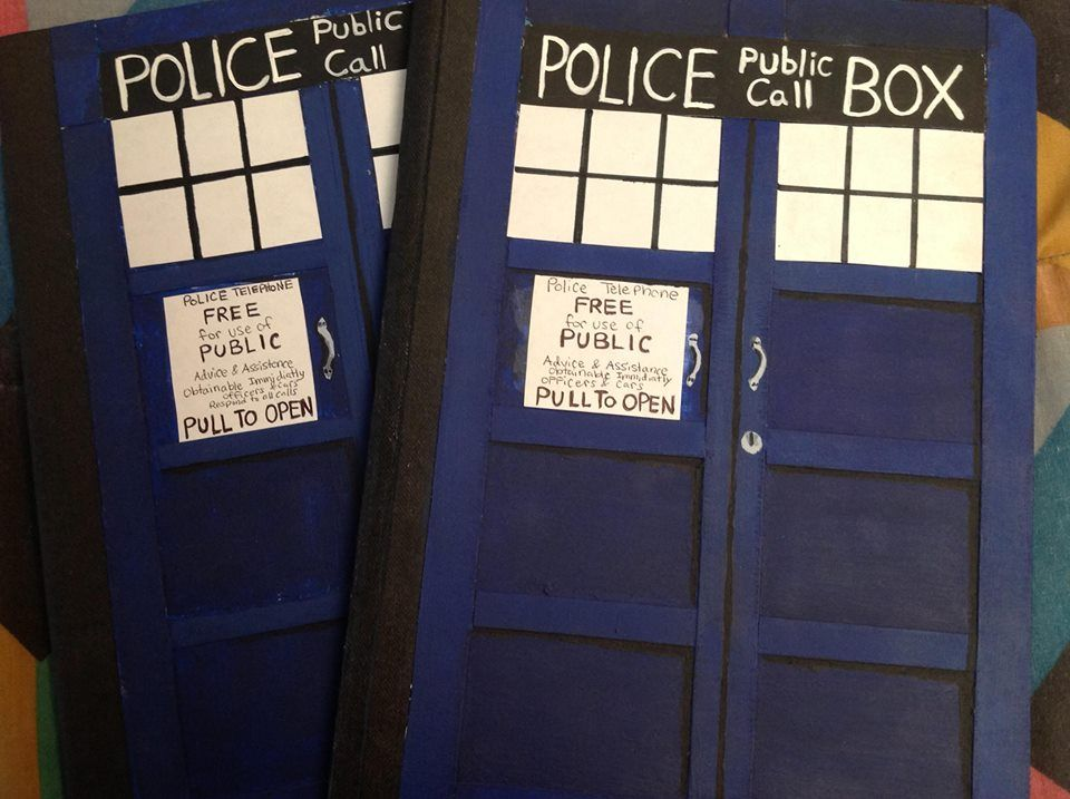 Tardis Journals by Master-Kat-Illusion on DeviantArt - includes directions to DIY