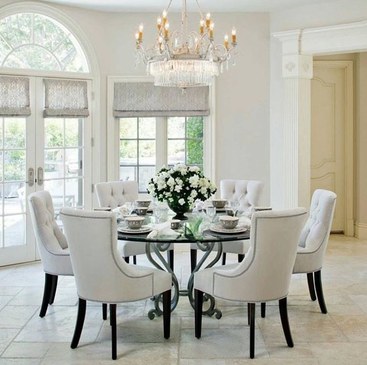 Pin By Jeanette Arias On Kitchen Decor Dining Room Design Chic