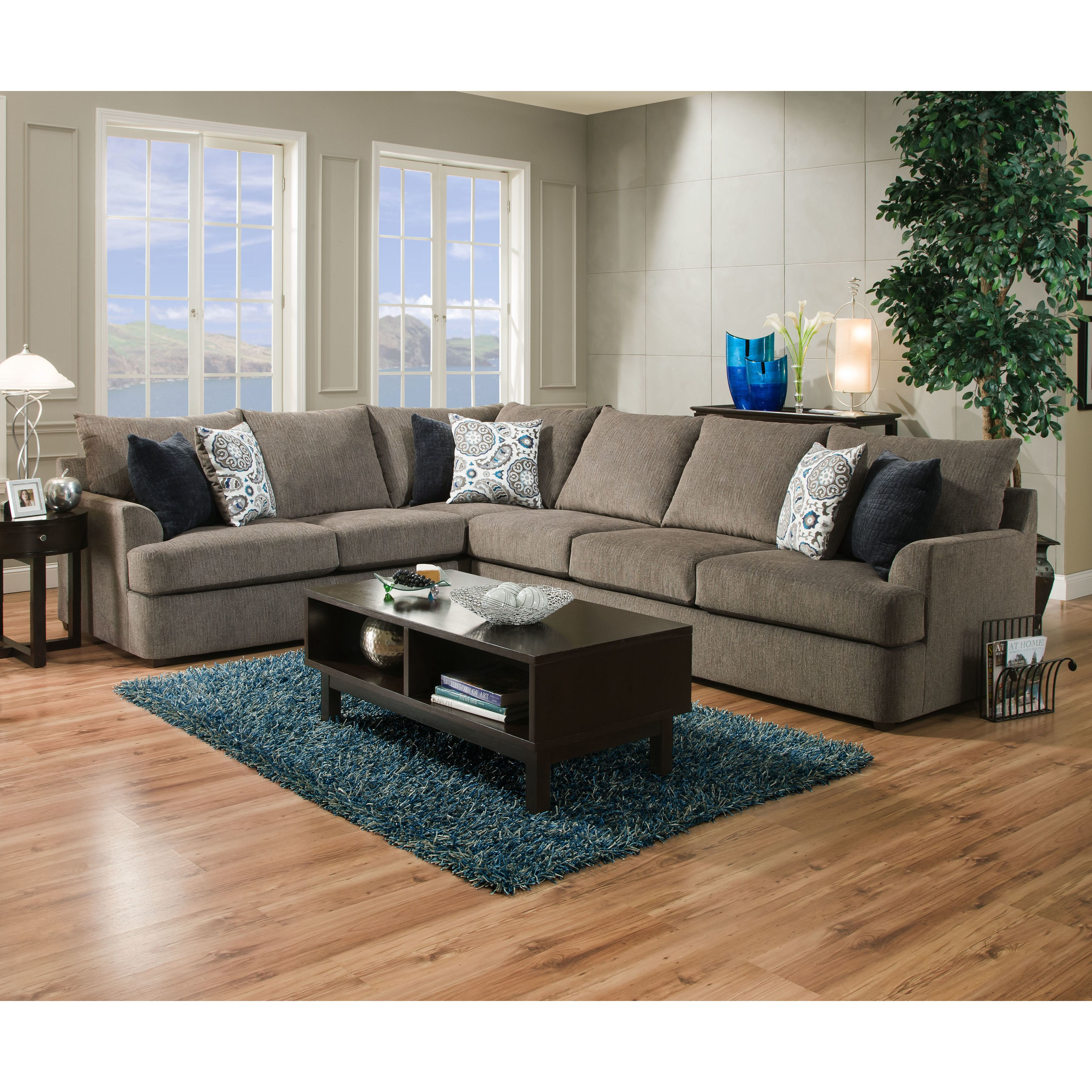 Simmons Upholstery Seminole Sectional