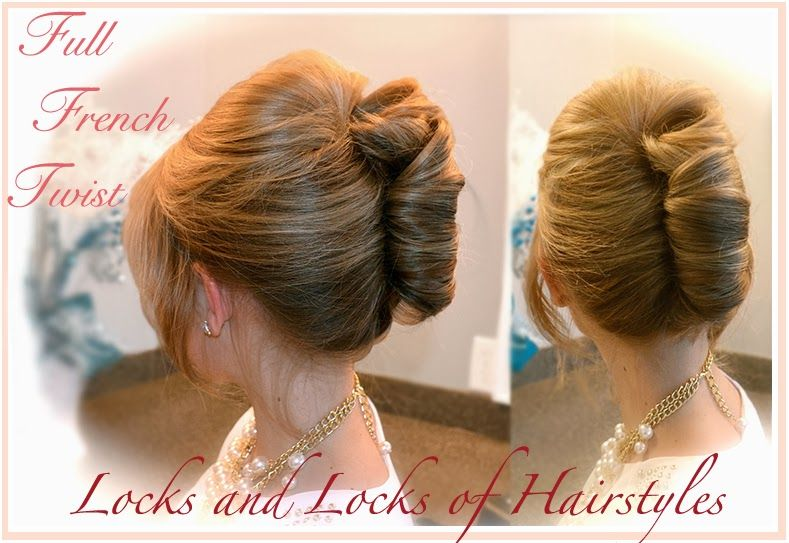 Beautiful Hairstyles: French Twist Updo