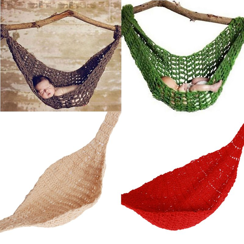 crochet baby hammock photo accessories knitted newborn infant clothing photography props 0 3months  in hats crochet baby hammock photo accessories knitted newborn infant      rh   pinterest