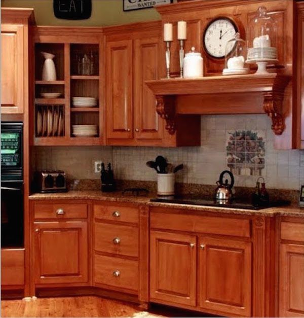 I Can't Afford A New Kitchen. Can You Paint Stained Wood ...