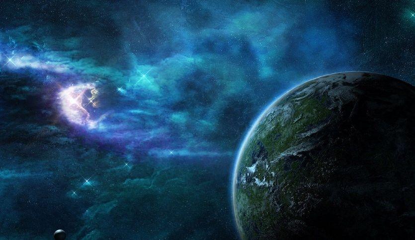 Zvezdy Kosmos Planet Planeta Nebula Space Stars Tumannost