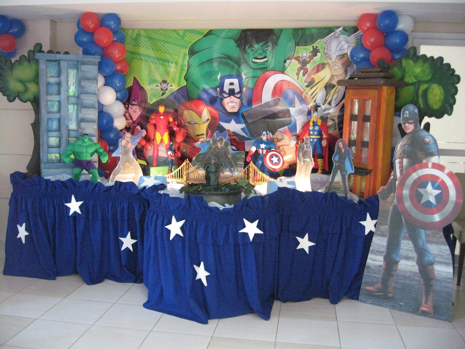 Avengers Party Decorations Avengers Party Decorations Avengers Party Ideas Pinterest