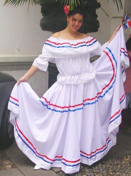 Vestido Tradicional Republica Dominicana Google Search Trajes
