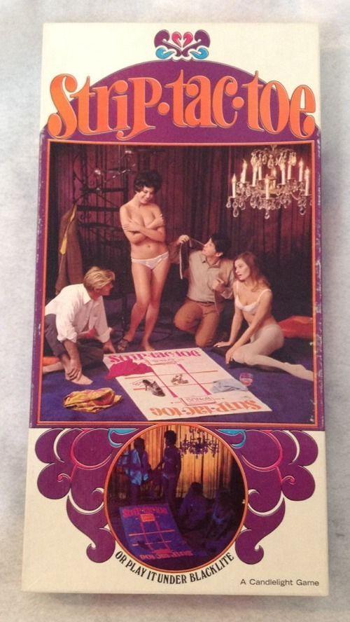 Vintage Adult Board Game Bedroom Couples Sexual Strip Tac