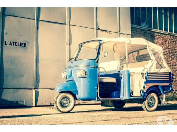 photos vivastreet location d 39 un triporteur calessino vespa tuk tuk voiture wedding. Black Bedroom Furniture Sets. Home Design Ideas