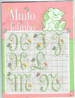 100% _ponto_cruz: Winnie and butterflies ... happiness!