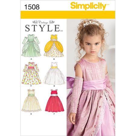 Simplicity Patterns Child Dresses 40 40 40 40 40 Walmart Classy Walmart Dress Patterns