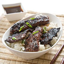 grilled teriyaki beef - Cook's Illustrated