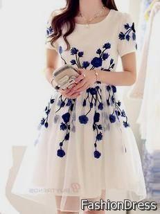 Celebs wear party wear one piece dresses knee length prom hong kong