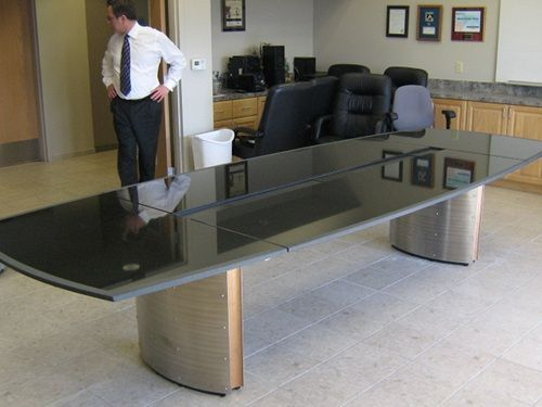 Granite Conference Room Tables Durso Knoll Steelcase Trim Space - Granite conference table for sale