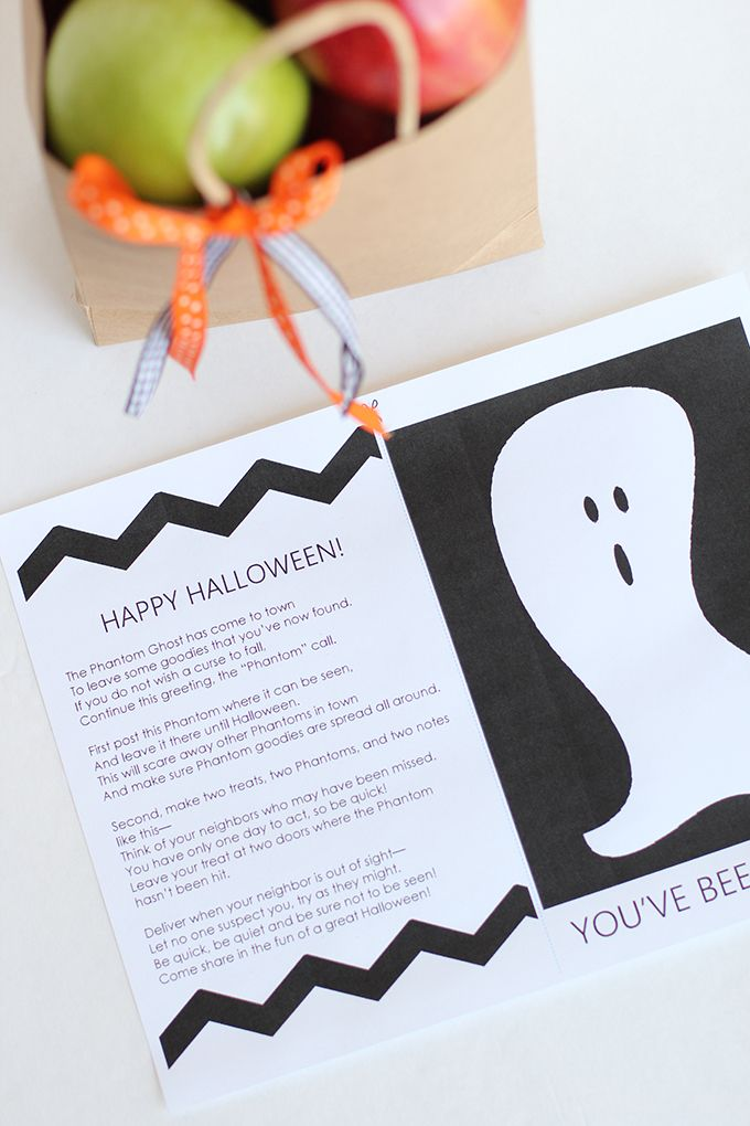 Spread Halloween cheer with the Friendly Neighborhood Phantom Ghost - neighborhood halloween party ideas