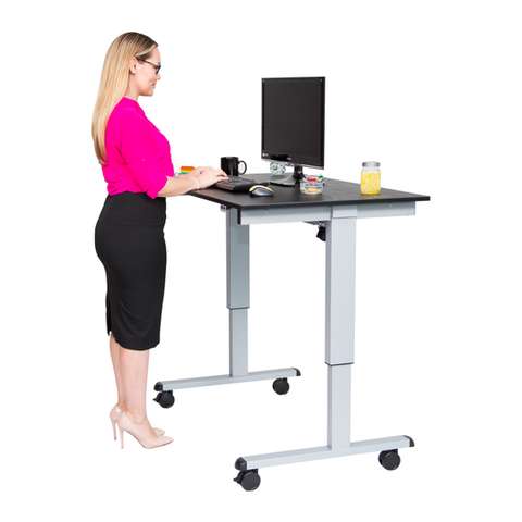 Pin By Yourstandingdesk On Office Energy Standing Desk Stand Up Desk Adjustable Standing Desk