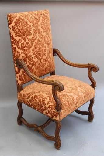 1920s Antique Armchair Spanish Revival Chair English Tudor Seat Throne  (6608) | English Tudor, Spanish Revival And Armchairs
