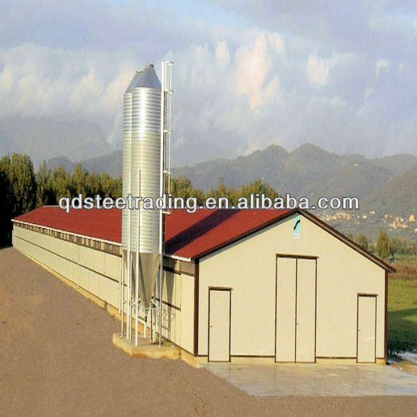 Commercial Chicken House commercial poultry house pictures | steel structure poultry house