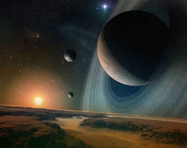 Actual Pictures Of Planets In Space